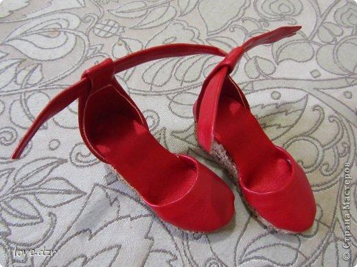 Еще один мк по созданию обуви для кукол. фото 35