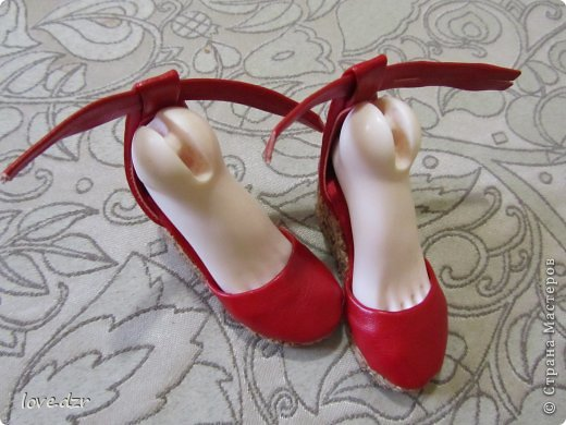 Еще один мк по созданию обуви для кукол. фото 36