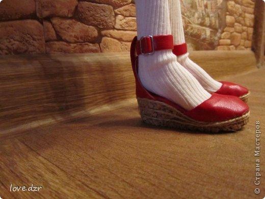 Еще один мк по созданию обуви для кукол. фото 40