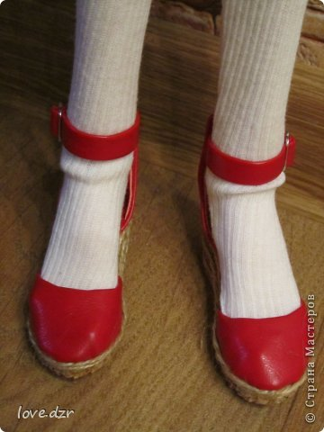 Еще один мк по созданию обуви для кукол. фото 39