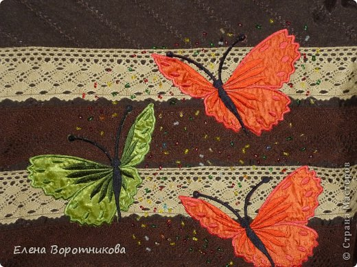 Решила сшить новую сумку с бабочками))) уж очень они мне нравятся))) фото 3