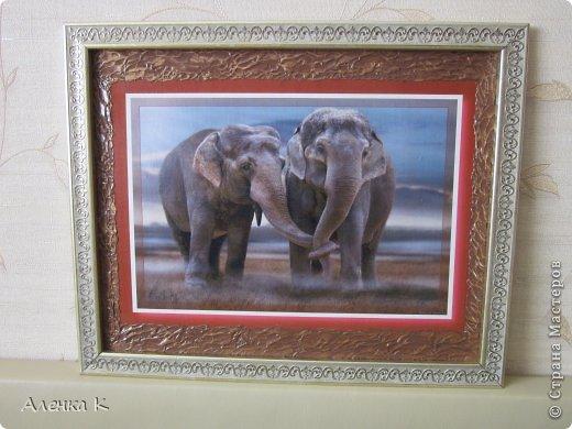 Здравствуйте дорогие мои девочки!Еще в прошлом году сестра заказала мне картину с 7-ю (да, да, вы не ослышались - не менее семи) слонами в свою новую комнату, но так как мы живем друг от друга далеко и встречаемся только раз в год, я решила не торопиться и обдумать все по-хорошему))), в конечном итоге - получилась не одна, а три картины с 8-ю слонами))) Сестра осталась довольная как слон, а я довольна, что она довольна))) фото 2