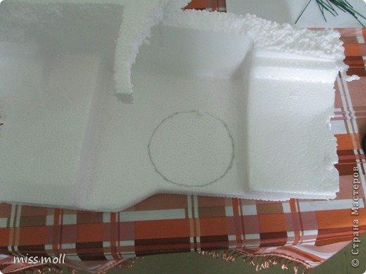 МК корзина подснежников из фоамирана. фото 23