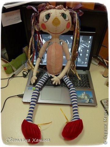 Куклы Мастер-класс Вышивка Шитьё Рождение Куклы 4 часть Ткань фото 1