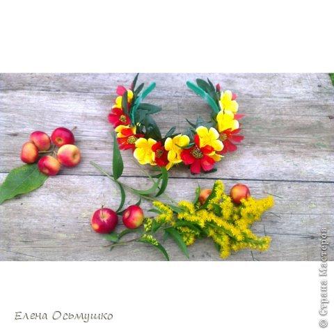 Ободки цветочные фото 1