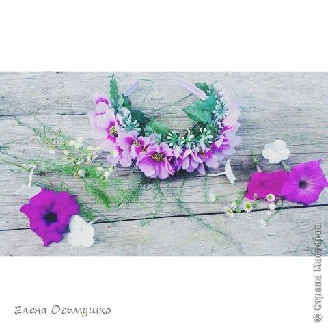 Ободки цветочные фото 2