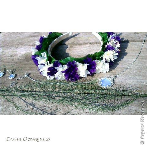 Ободки цветочные фото 3