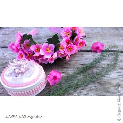 Ободки цветочные фото 5