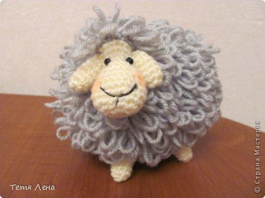 Пора готовиться к Новому году (козы или Овцы?!!) Эта игрушка очень легка в исполнении. фото 1