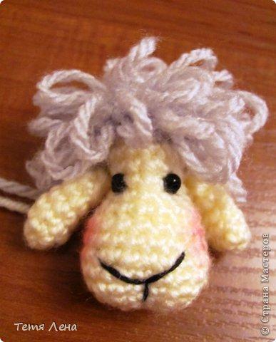 Пора готовиться к Новому году (козы или Овцы?!!) Эта игрушка очень легка в исполнении. фото 8