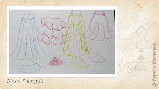 Куклы Шитьё Третий завершающий МК по созданию куклы Darina  создание образа одежды и обуви для куклы Краска Пластика Ткань фото 27