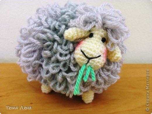 Пора готовиться к Новому году (козы или Овцы?!!) Эта игрушка очень легка в исполнении. фото 11