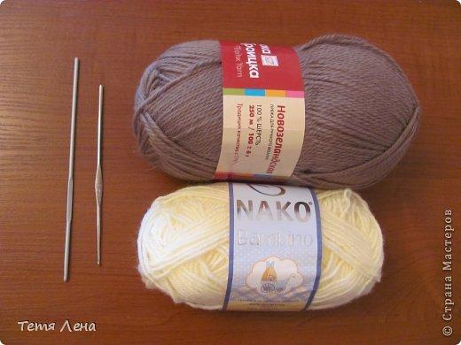 Пора готовиться к Новому году (козы или Овцы?!!) Эта игрушка очень легка в исполнении. фото 2
