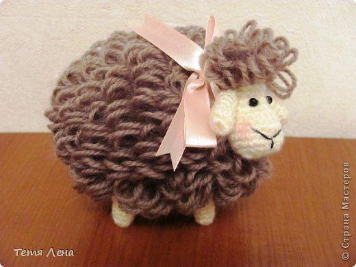 Пора готовиться к Новому году (козы или Овцы?!!) Эта игрушка очень легка в исполнении. фото 12