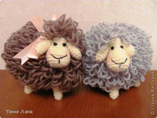 Пора готовиться к Новому году (козы или Овцы?!!) Эта игрушка очень легка в исполнении. фото 13
