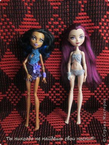 """Совсем недавно, в 2013 году появились новые куклы-Ever After High """" Школа """"Долго и Счастливо"""" """" Производитель у них один-"""" Mattel """" И сейчас мы их сравним. Первое, что я заметила- ЕАХ тяжелее МХ. фото 1"""