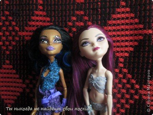 """Совсем недавно, в 2013 году появились новые куклы-Ever After High """" Школа """"Долго и Счастливо"""" """" Производитель у них один-"""" Mattel """" И сейчас мы их сравним. Первое, что я заметила- ЕАХ тяжелее МХ. фото 2"""