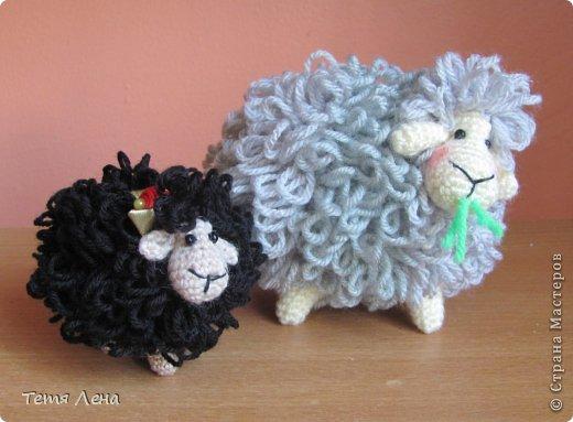 Игрушка Мастер-класс Новый год Вязание крючком БОНУС  Ма-а-ааленькая овечка Пряжа фото 2
