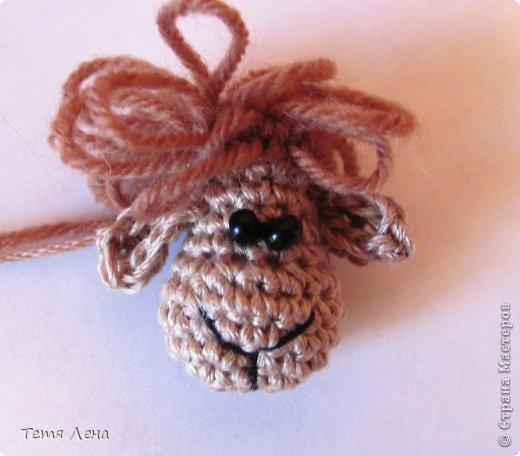 Игрушка Мастер-класс Новый год Вязание крючком БОНУС  Ма-а-ааленькая овечка Пряжа фото 8