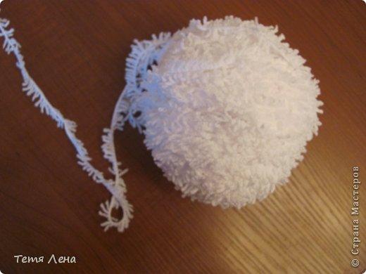 Игрушка Мастер-класс Новый год Вязание крючком БОНУС  Ма-а-ааленькая овечка Пряжа фото 12