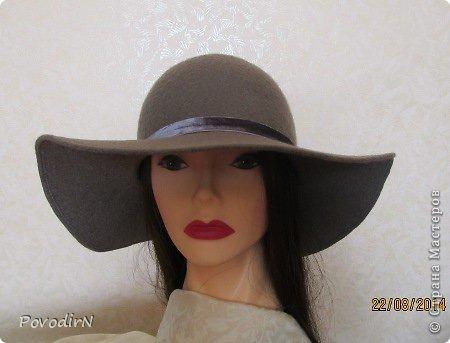 Гардероб Мастер-класс Валяние фильцевание Женская шляпка Шерсть фото 1