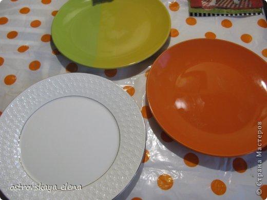 Сегодня хочу поделиться с Вами тем, как я делаю приспособления на декоративных тарелочках для крепления их к стене.... фото 2