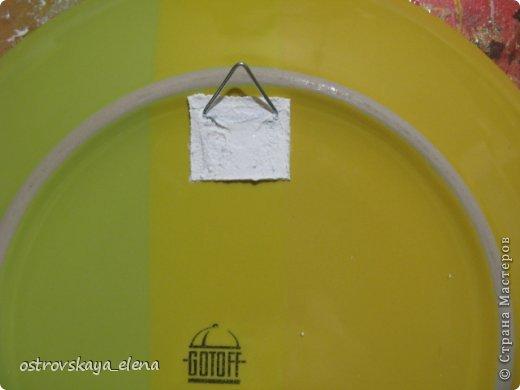 Сегодня хочу поделиться с Вами тем, как я делаю приспособления на декоративных тарелочках для крепления их к стене.... фото 11