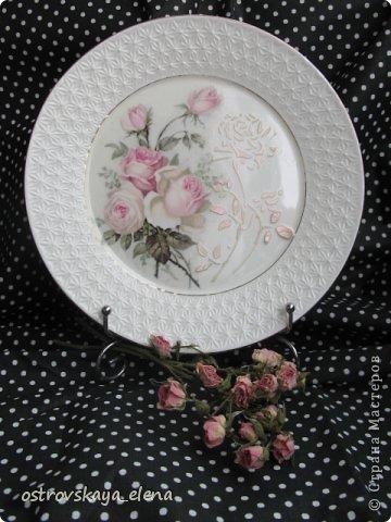 Сегодня хочу поделиться с Вами тем, как я делаю приспособления на декоративных тарелочках для крепления их к стене.... фото 4