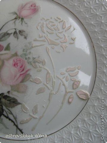 Сегодня хочу поделиться с Вами тем, как я делаю приспособления на декоративных тарелочках для крепления их к стене.... фото 18