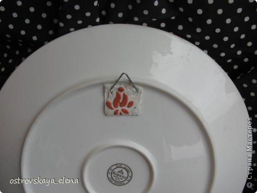 Сегодня хочу поделиться с Вами тем, как я делаю приспособления на декоративных тарелочках для крепления их к стене.... фото 20