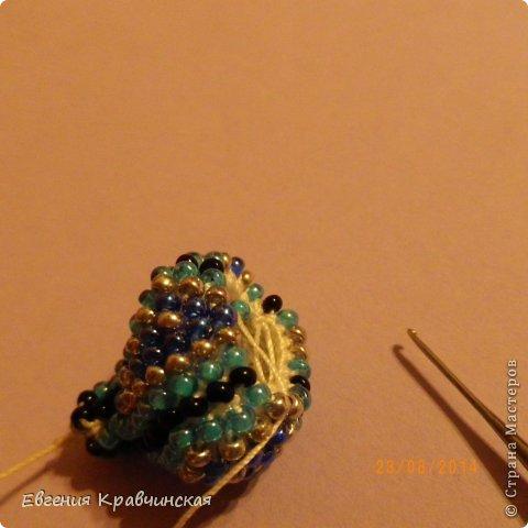 Мастер-класс Украшение Вязание крючком Серьги из бисера крючком Бисер Нитки фото 21