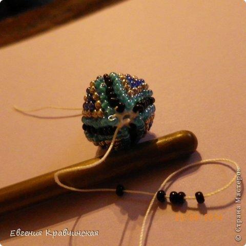 Мастер-класс Украшение Вязание крючком Серьги из бисера крючком Бисер Нитки фото 22