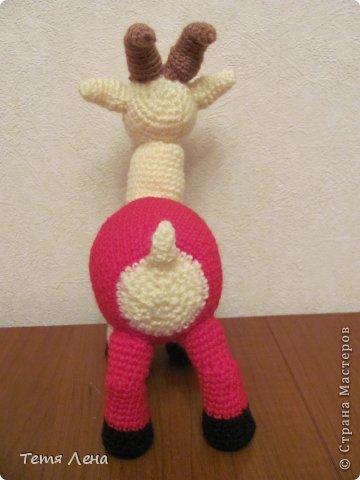 Игрушка Мастер-класс Новый год Вязание крючком Козочки или Козлики? МК Пряжа фото 24