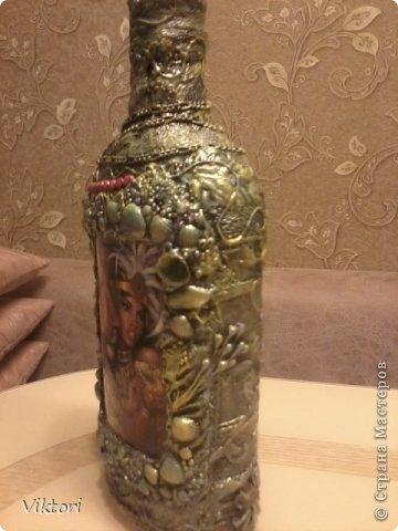 Мастер-класс Бутылки с объёмом  фото 34