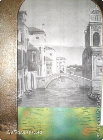 Картина панно рисунок Мастер-класс Моделирование конструирование Картина из кожи Венеция  Мастер-класс Кожа фото 31