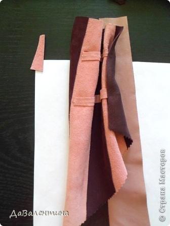 Картина панно рисунок Мастер-класс Моделирование конструирование Картина из кожи Венеция  Мастер-класс Кожа фото 59