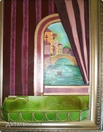 Картина панно рисунок Мастер-класс Моделирование конструирование Картина из кожи Венеция  Мастер-класс Кожа фото 67