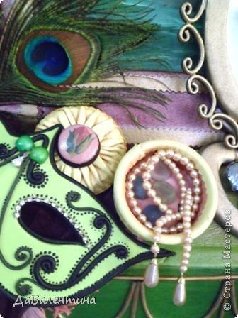 Картина панно рисунок Мастер-класс Моделирование конструирование Картина из кожи Венеция  Мастер-класс Кожа фото 7