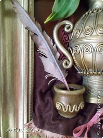 Картина панно рисунок Мастер-класс Моделирование конструирование Картина из кожи Венеция  Мастер-класс Кожа фото 8