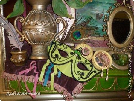 Картина панно рисунок Мастер-класс Моделирование конструирование Картина из кожи Венеция  Мастер-класс Кожа фото 6