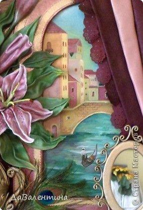 Картина панно рисунок Мастер-класс Моделирование конструирование Картина из кожи Венеция  Мастер-класс Кожа фото 9