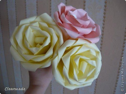 Видео Мастер-класс Поделка изделие День рождения Оригами Цветы Розы из бумаги Бумага