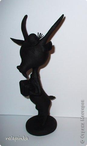 Игрушка Мастер-класс Новый год Папье-маше Тирольский козлик Бумага фото 11