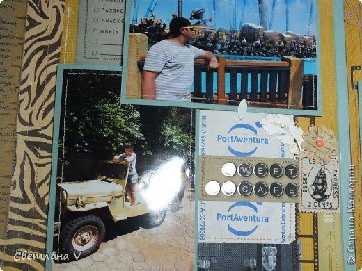 Ночь на дворе, фотоаппарат сел, а я пытаюсь вовремя загрузить фотографии )) Давно хотела сделать альбом про поездку в Испанию, но все руки не доходили, а тут подвернулся конкурс https://stranamasterov.ru/node/806291 и я подумала, что если не сейчас, то никогда)) Альбом с вырезками из буклетов, рисунками на крафт-бумаге акварельными карандашами. фото 26