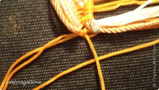 Мастер-класс Украшение Макраме  Техника плетения кулона Звёздочка  от Петерс Розы Нитки фото 11