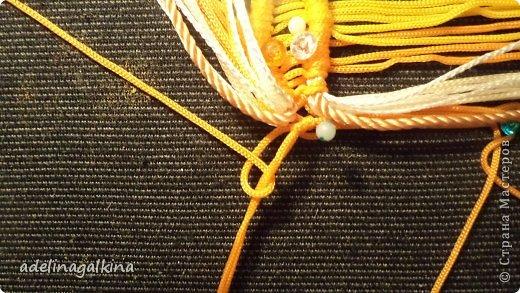 Мастер-класс Украшение Макраме  Техника плетения кулона Звёздочка  от Петерс Розы Нитки фото 12