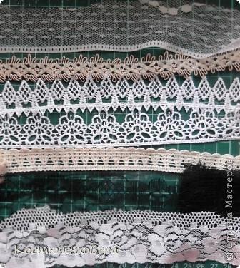 Мастер-класс Украшение Вышивка Шитьё Брошь в стиле бохо Бисер Бусины Кружево Ткань фото 4