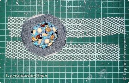 Мастер-класс Украшение Вышивка Шитьё Брошь в стиле бохо Бисер Бусины Кружево Ткань фото 14