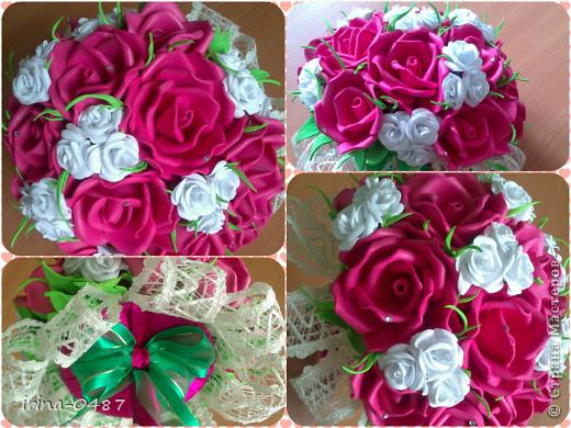В букете 41 роза, 15 крупных и 26 мелких фото 1
