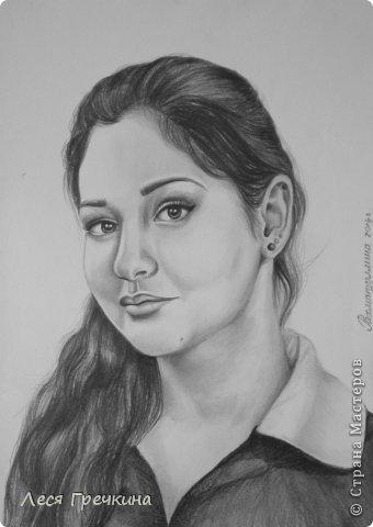 Портреты карандашом фото 2